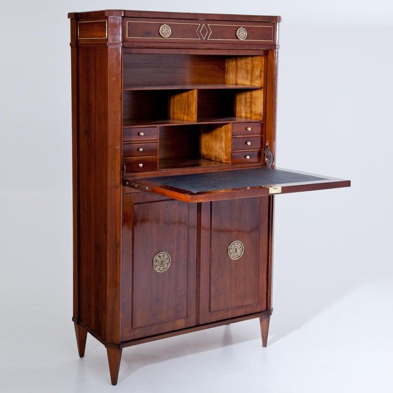 Empire Secretaire, Vienna, circa 1800 In Good Condition For Sale In Greding, DE
