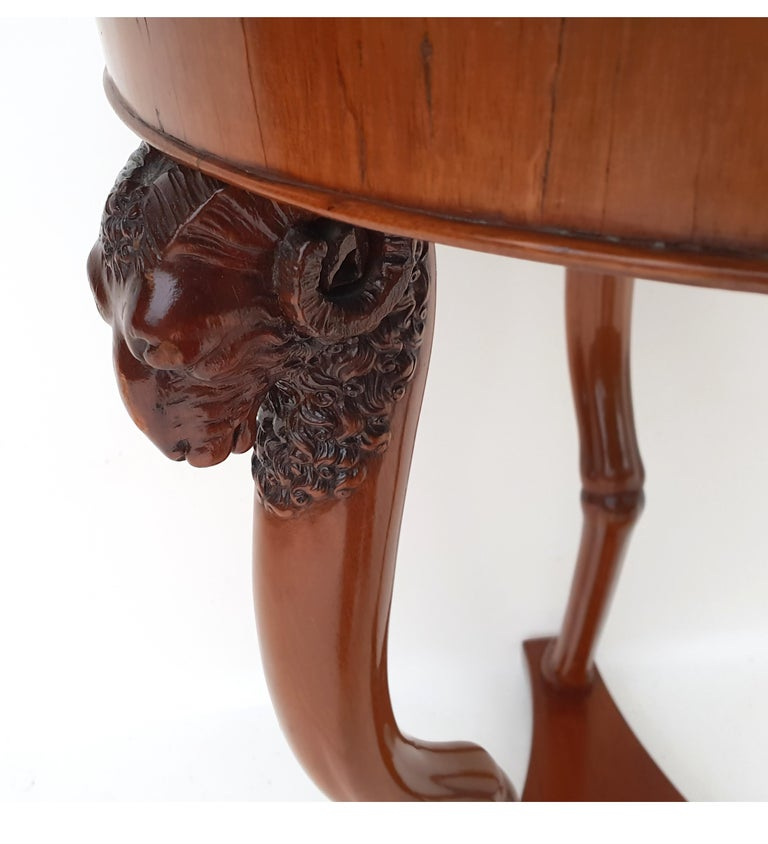 Empire Side Table/Gueridon, Paris, 1810s In Good Condition For Sale In Kiel, Schleswig-Holstein