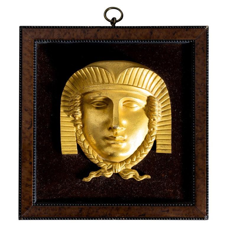 Empire Sphinx Maskaron, Frankreich Anfang 19, Jahrhundert For Sale
