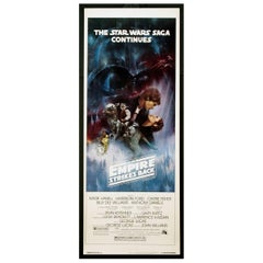 Empire Strikes Back, the 1980 Poster
