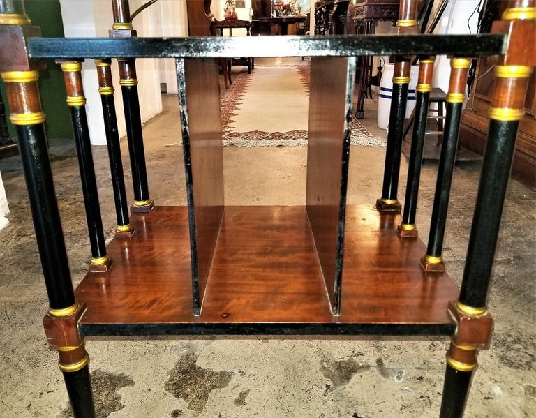 Empire Style Canterbury Side Table For Sale 2