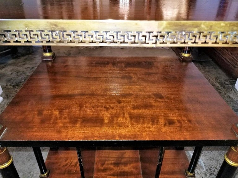 Empire Style Canterbury Side Table For Sale 3