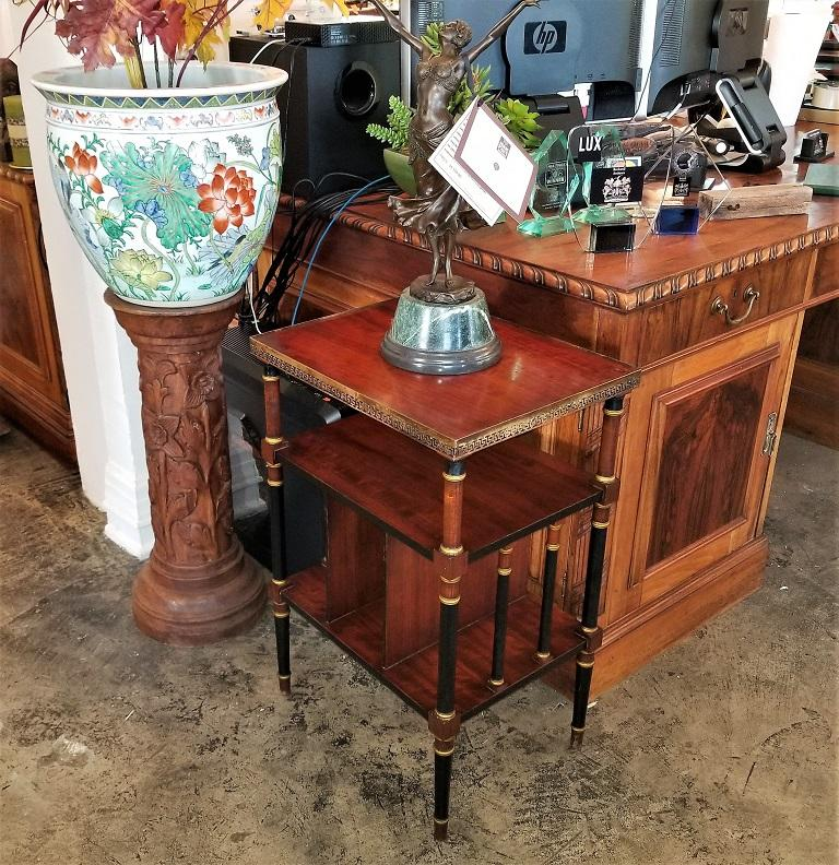 Empire Style Canterbury Side Table For Sale 5