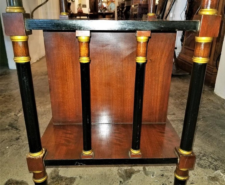 Empire Style Canterbury Side Table For Sale 1