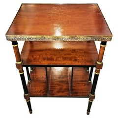 Empire Style Canterbury Side Table