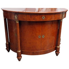 Empire Style Demilune Commode