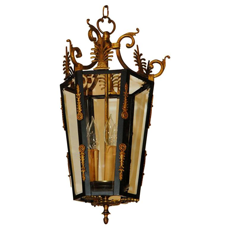 Empire Style Lantern For Sale At 1stdibs