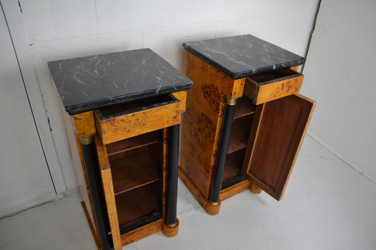 Empire Style Nightstands For Sale 1