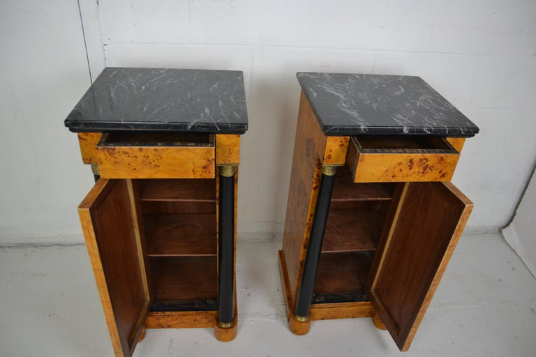 Empire Style Nightstands For Sale 2