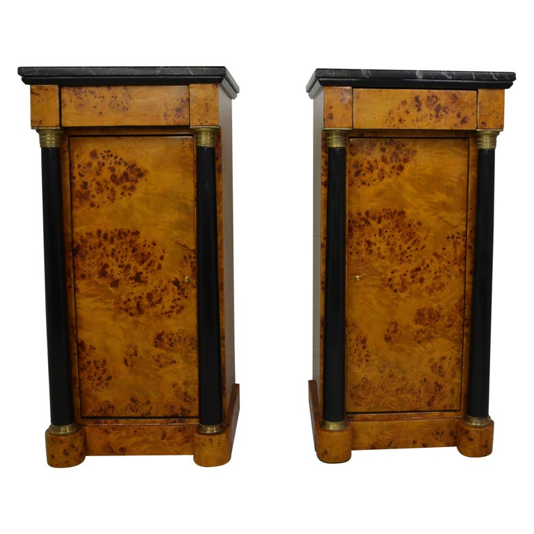 Empire Style Nightstands For Sale