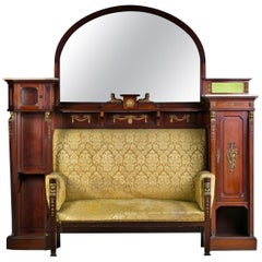 Empire Style Sofa Cabinet, 19th-20th Century