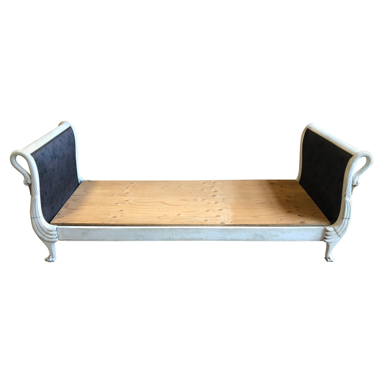 Superb Empire Style Swan Day Bed French 19Th Century Creativecarmelina Interior Chair Design Creativecarmelinacom