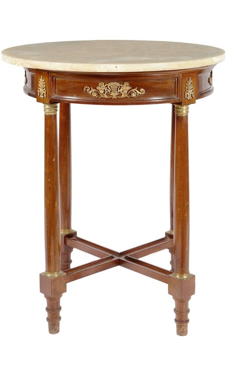 Empire Style Table, 19th Century In Good Condition For Sale In Madrid, ES