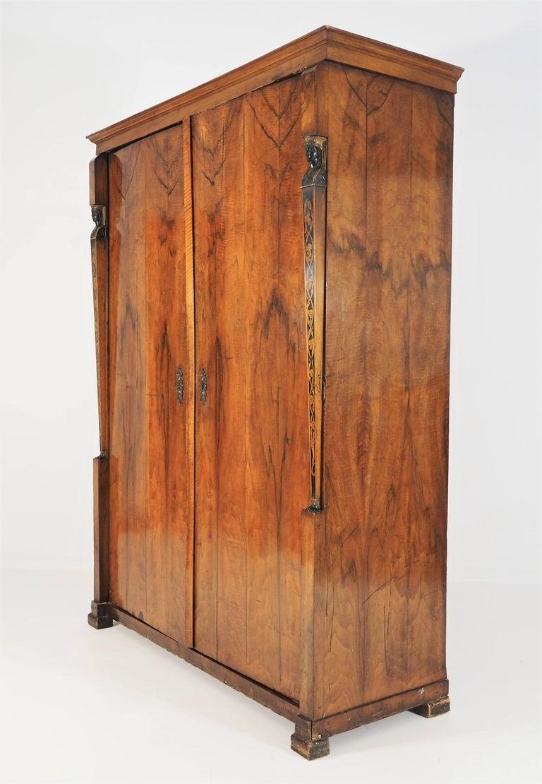 Empire Wardrobe, circa 1805 7