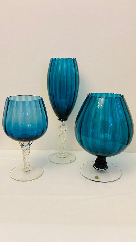 Art Glass Empoli Optical Glasses For Sale