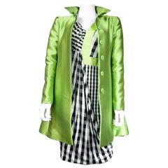 Emporio Armani Coat and Evening Dress Set Circa 2010