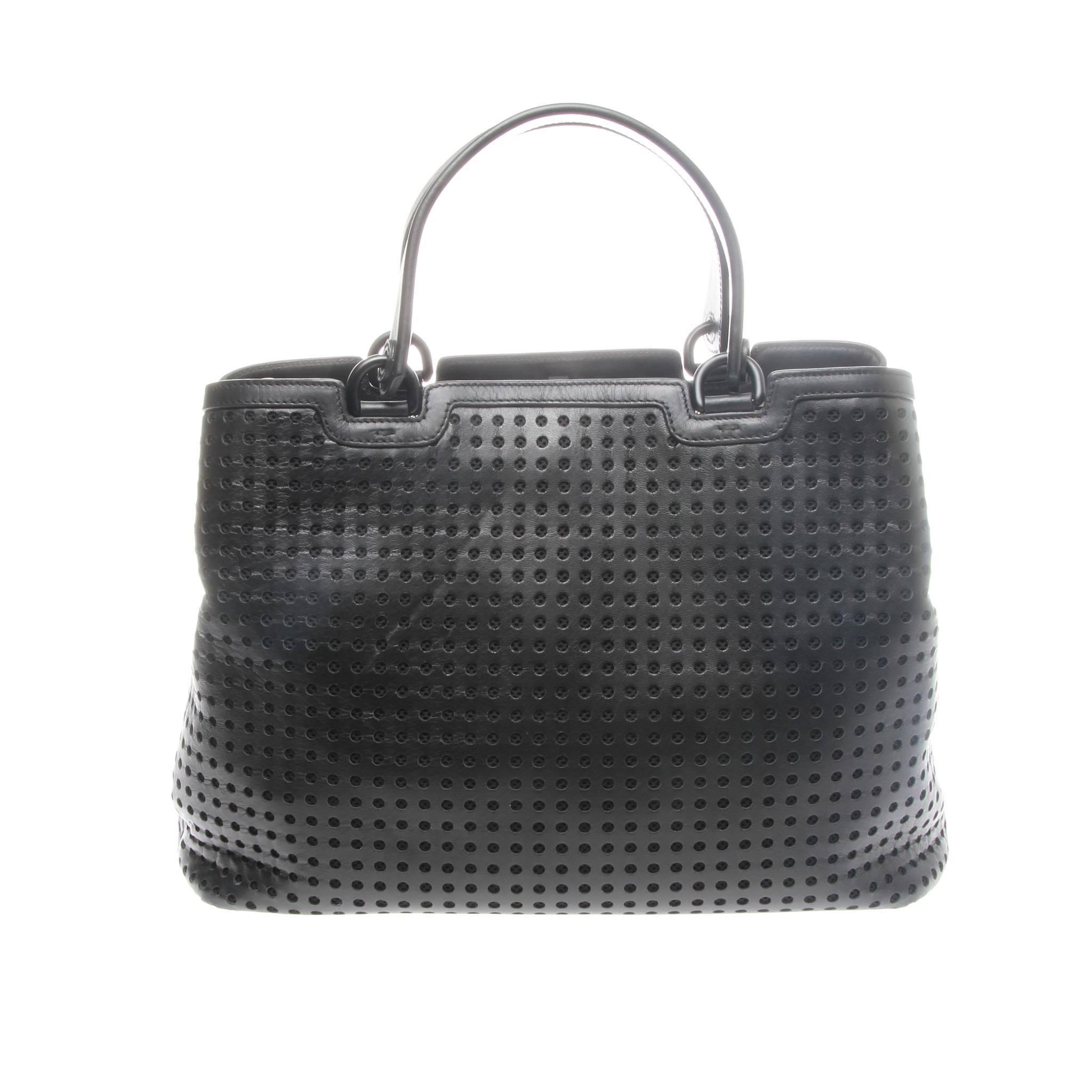 1stdibs Emporio Armani Perforated Shopper 4OnwNbf0T
