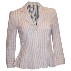 Emporio Armani Pink StripeJacket