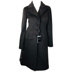 Emporio Armani Single Breasted Long Coat