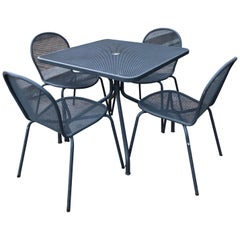 EMU Italian Modern Patio Set in Gray