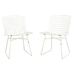 Emu Italy Two Metal Wire Chairs