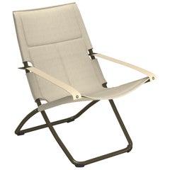 EMU synthetic mesh/Microfiber/Steel EMU Snooze Deck chair Cozy
