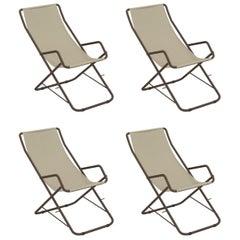 EMU Tex-Steel Bahama Deck Chair, 'Set of 4 Items'