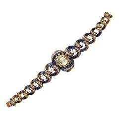 Enamel Diamond Bracelet
