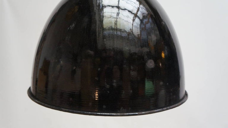 Metal Enamel Industrial Factory Pendant Lights For Sale