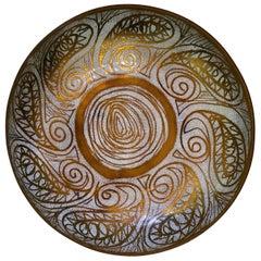 Enamel on Copper Bowl
