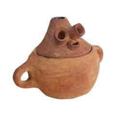 Enamel Vase, Unique by Meritxell Duran