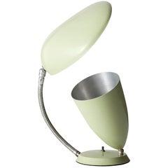 Enameled Aluminum Table Lamp by Greta Magnusson Grossman