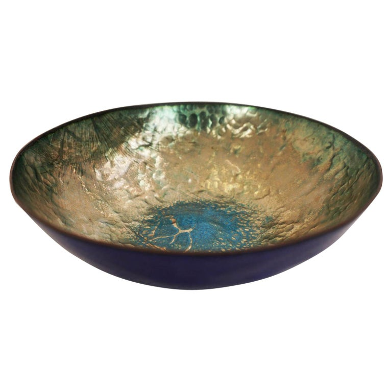 Enameled Bowl by Paolo De Poli, 1950, Italy For Sale