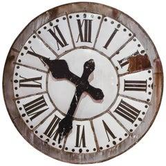 Enameled Clockface