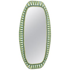 Enamelled Mirror by Siva Poggibonsi