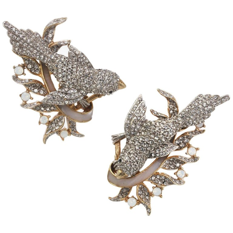 CINER Enchanting Bird Earring For Sale