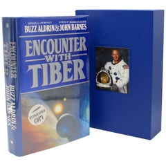 Encounter with Tiber by Buzz Aldrin and John Barnes, Signed First Edition, 1996