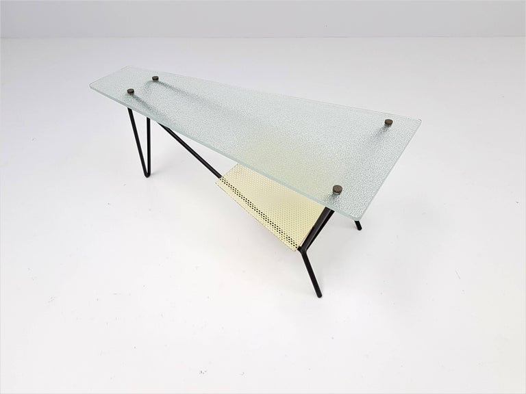Mid-Century Modern End Table by Robert Mathieu, France, circa 1955 For Sale