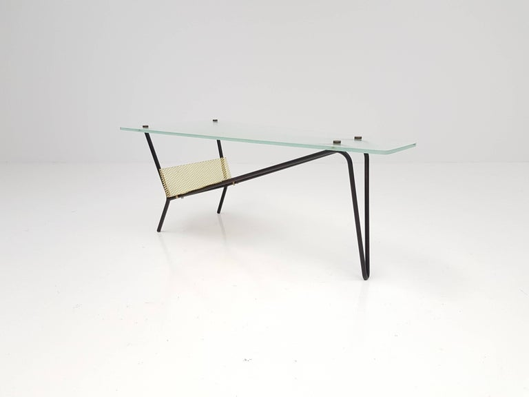 End Table by Robert Mathieu, France, circa 1955 For Sale 1