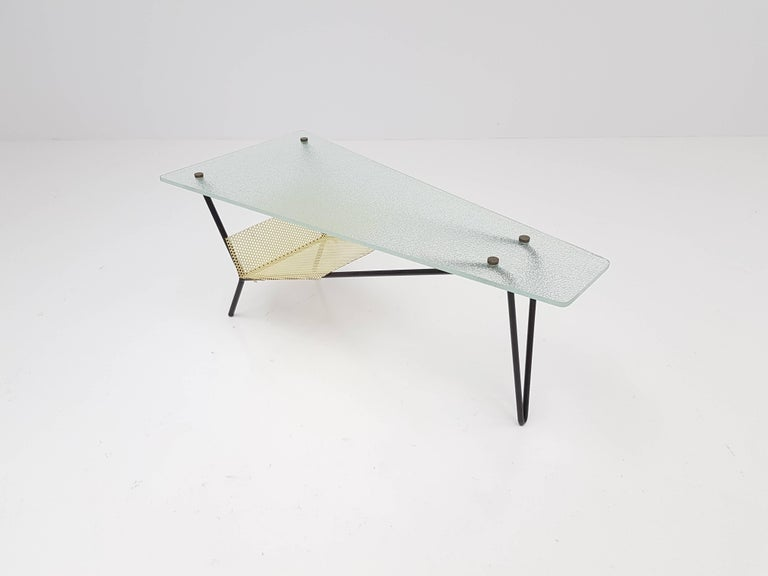 End Table by Robert Mathieu, France, circa 1955 For Sale 2