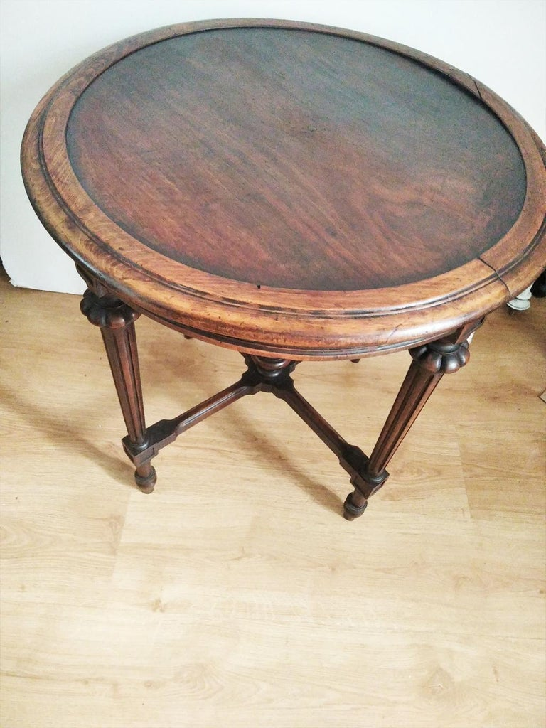 Spanish End Tor Side Table, Spain, 19th Century For Sale