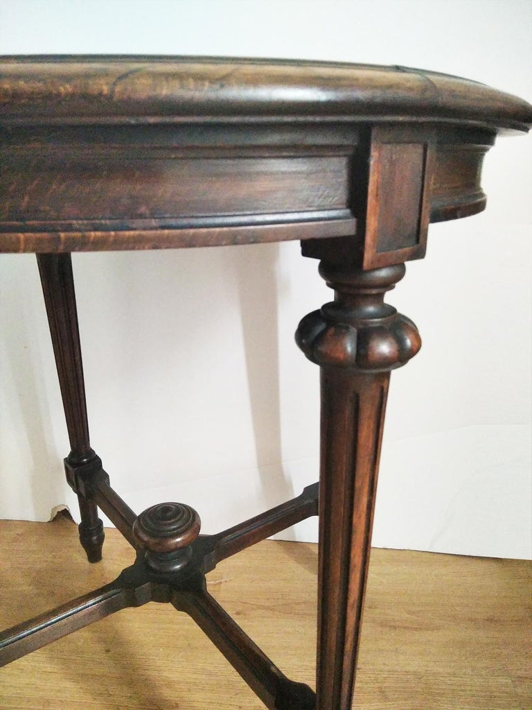 Turned End Tor Side Table, Spain, 19th Century For Sale