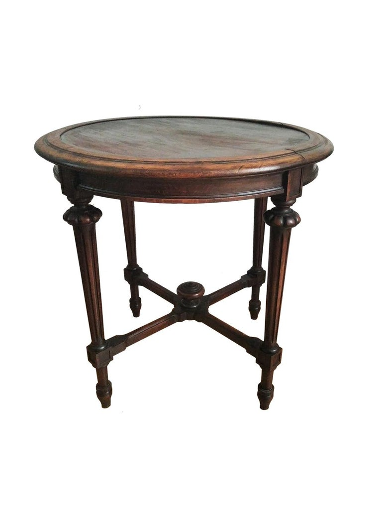 End Tor Side Table, Spain, 19th Century In Good Condition For Sale In Mombuey, Zamora