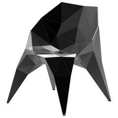 Endless Form Chair by Zhoujie Zhang 'MC004-S-Matte' Matte Black