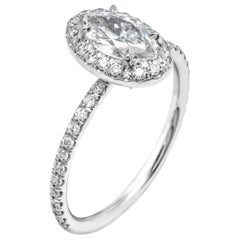 Engagement Ring with Marquise Diamond