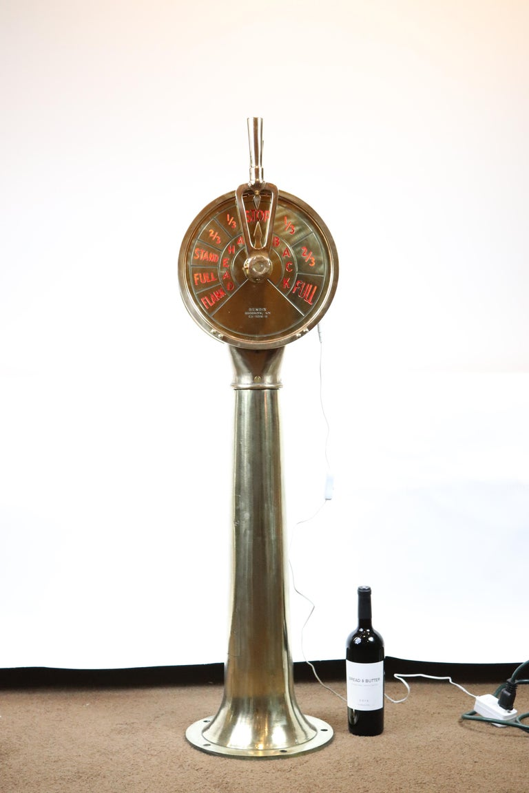 Engine Room Telegraph: Engine Order Telegraph For Sale At 1stdibs