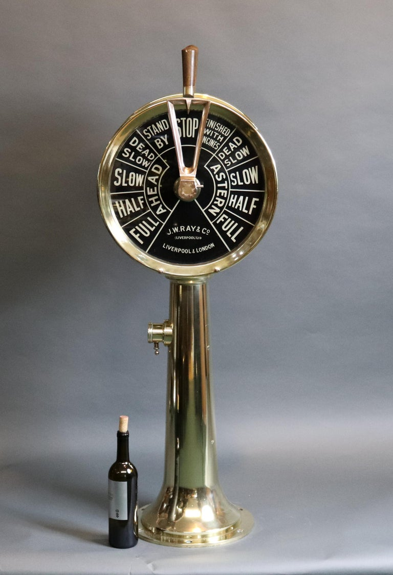 Engine Room Telegraph: Engine Room Telegraph JW Ray For Sale At 1stdibs