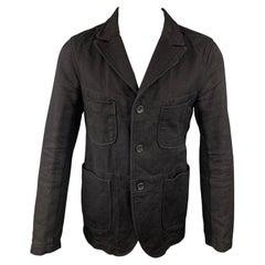 ENGINEERED GARMENTS Size M Black Twill Cotton Jacket