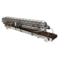 Engineer's Scale Model of an Extending Fire Escape Ladder
