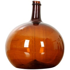 English 18th Century Amber Wine Keg